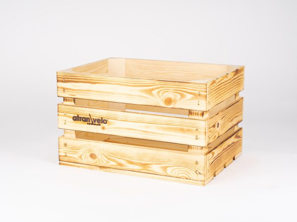 AtranVelo AVS Vintage Wooden Crate For Your Bicycle