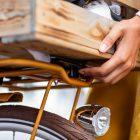 AtranVelo WOODY Basket on Rack